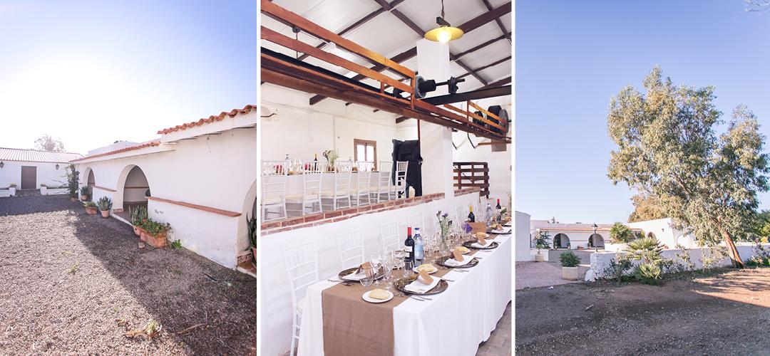 Hochzeit am Strand in einer Finca in Spanien